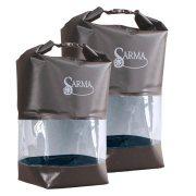 Купить Баул водонепроницаемый SARMA с прозрачной вставкой 10л. (С 007-1)