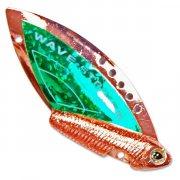 Купить Блесна-цикада Kosadaka Wave Striker 7г Cooper/Green