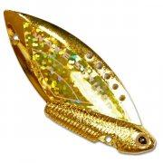 Купить Блесна-цикада Kosadaka Wave Striker 7г Gold/Gold