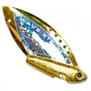 Купить Блесна-цикада Kosadaka Wave Striker 7г Gold/Silver
