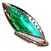 Купить Блесна-цикада Kosadaka Wave Striker 7г Silver/Green
