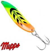 Купить Блесна Mepps Syclops 0 Fluo Tiger 5см 8г