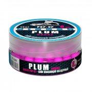 Купить Бойлы плавающие Sonik Baits Micron Fluo Pop-Ups Plum(Слива) 8мм 50мл