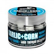 Купить Бойлы тонущие Sonik Baits Sinking Garlic-Corn(Чеснок-Кукуруза) 14мм 90мл