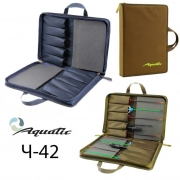 Купить Чехол Aquatic Ч-42 для зимних удочек жесткий - Синий