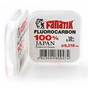 Купить Флюорокарбоновая леска Fanatik Fluorocarbon 100% 10м (#1.5) 0.210мм