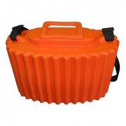 Купить Кан рыболовный для живца Salmo ЭВА 7.5л (оранжевый)