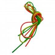 Купить Кембрики силикон. цветн. набор(3 шт.) d внутр. 0.8 мм / внешн. 1.5 мм