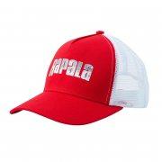 Купить Кепка Rapala красная c сеткой Splash logo