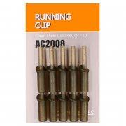 Купить Клипса безопасная Orange AC2008 Running clip (силикон,10шт)