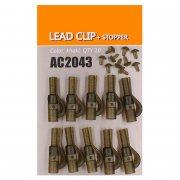 Купить Клипса безопасная Orange AC2043 Lead clip+stopper (10шт)