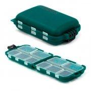 Купить Коробка-раскладушка Kosadaka TB-2400 для мелочей 99x65x30мм (зеленая)