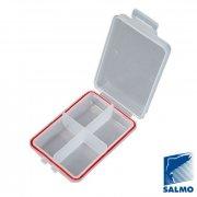 Купить Коробка рыболовная Salmo Waterproof на 4 ячейки (105x70x25 мм)
