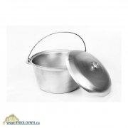 Купить Котел литой алюминиевый с крышкой 15.0л