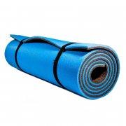 Купить Коврик туристический двухслойный антрацит-синий 180Х60Х0,8см