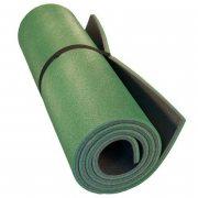 Купить Коврик туристический двухслойный антрацит-зеленый 180Х60Х0,8см