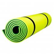Купить Коврик туристический двухслойный темно-зеленый-желтый 180Х60Х0,8см