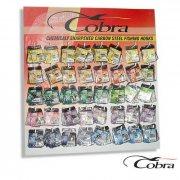 Купить Крючки Cobra стенд 9 моделей 400шт.