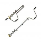 Купить Ледобур титановый Тонар ТЛР-150Д-2НТР (150 мм, 2 ножа)