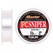 Купить Леска флюорокарбоновая Sunline FC Sniper Shooter 100м 18lb