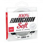 Купить Леска Lucky John 100% Fluorocarbon Soft 100м (0,25мм)