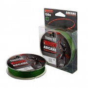 Купить Леска плетеная Akkoi Mask Arcane X4 150м Green (0,44мм)