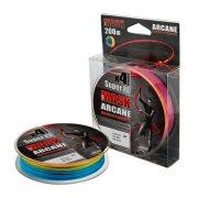 Купить Леска плетеная Akkoi Mask Arcane X4 200м Multicolor (0,18мм)