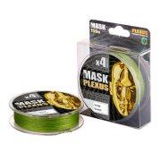 Купить Леска плетеная Akkoi Mask Plexus X4 150м Green (0,08мм)