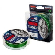 Купить Леска плетеная Akkoi Mask Power X6 150м Dark-green (0,12мм)