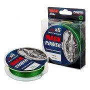 Купить Леска плетеная Akkoi Mask Power X6 150м Dark-green (0,14мм)