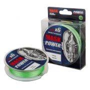 Купить Леска плетеная Akkoi Mask Power X6 150м Light-green (0,12мм)