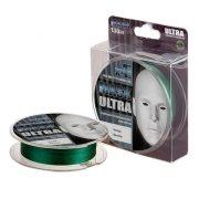 Купить Леска плетеная Akkoi Mask Ultra X4 130м Green (0,10мм)