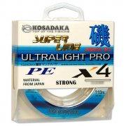 Купить Леска плетеная Kosadaka Super Line PE X4 Ultralight Pro 110м (0,10мм) Light green