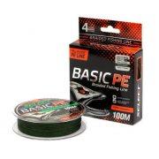 Купить Леска плетеная Select Basic PE 100м (0,18мм) Dark green