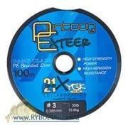 Купить Леска плет;ная Pontoon 21 Exteer, 0.128 мм, 8Lb светло-серая
