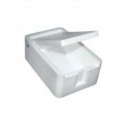 Купить Мотыльница ГX белая 7.5х5х2.8 см