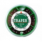 Купить Набор дроби Traper (мелкая 50 гр)