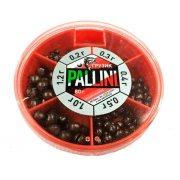 Купить Набор грузил Pallini (дробь) 80гр. (0,2 - 1,2г)