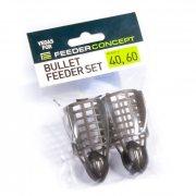 Купить Набор кормушек фидерных 2 шт. Feeder Concept «Vegas FC Bullet Сетка» 40,60 гр.