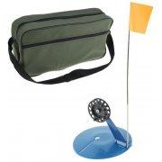 Купить Набор зимних жерлиц, оснащ;нные ДИКС-2 (d190 d78) в широкой сумке (10 шт)