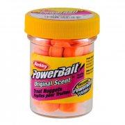 Купить Насадка форелевая Berkley PowerBait Original Scent Trout Nuggets Fluo Orange 30g