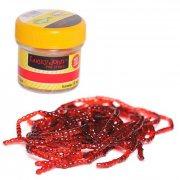 Купить Насадки искусственные съедобные Lucky John Pro Series Extra Blood Worm мотыль 200шт.