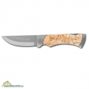 Купить Нож Marttiini Folding Knives MBL Curly Birch (складной)
