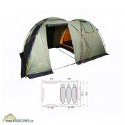 Купить Палатка 3-х местная Fjord Nansen Capri 3