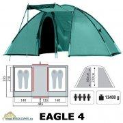 Купить Палатка 4-х местная Tramp Eagle 4