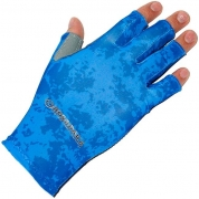 Купить Перчатки Kosadaka Sun Gloves, р L/XL (цвет Blue)