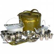 Купить Пикниковый набор Aquatic ПН-01-4 на 4 персоны (Хаки)