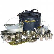 Купить Пикниковый набор Aquatic ПН-01-4 на 4 персоны (Синий)