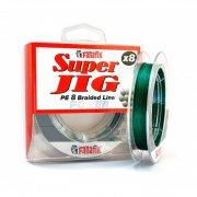 Купить Плетеная леска Fanatik Super Jig PE X8 100м (0,12мм) Green