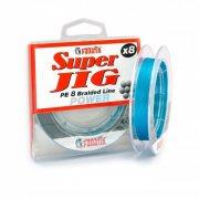Купить Плетеная леска Fanatik Super Jig PE X8 75м (0,10мм) Blue